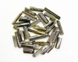 89 CT Top Quality Damage Free Epidote Crystals@ Pakistan