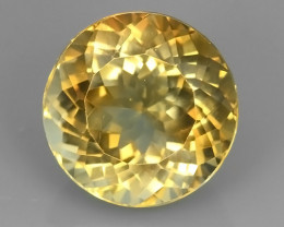 8.25 CTS SUPERIOR! CHAMPION TOPAZ GENUINE ROUND~EXCELLENT NR!!