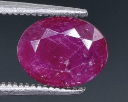 2.22 Crt Ruby  Faceted Gemstone (Rk-58)