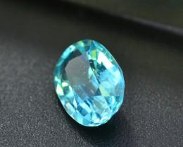 Attractive 0.80 ct Blue Apatite