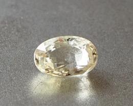 1.68ct unheated yellow sapphire