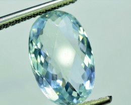 NR 6.55 cts Natural Aquamarine Gemstone