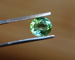 1.75ct Glowing Blue-Green Tourmaline - SI-VS - Bi-Color -