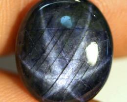 12.05 Carat Deep Blue Star Sapphire - Gorgeous