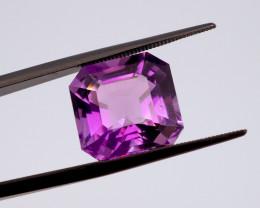 9.41 CT FREE SHIPPING! Custom Fancy Cut Purple Amethyst (Uruguay)