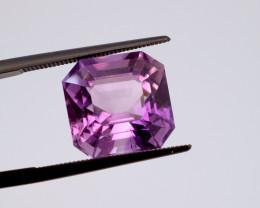 9.24 CT FREE SHIPPING! Custom Fancy Cut Purple Amethyst (Uruguay)