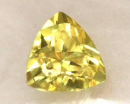0.22  CTS  CERTIFIED YELLOW SAPPHIRE TBM-431