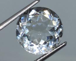 5.95 carat VVS Nigerian Topaz Precision Cut and Polished Beyond Beautiful!