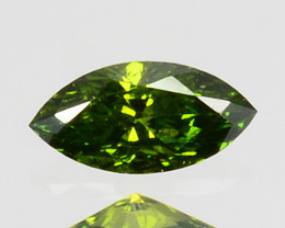 0.08 Cts Natural Diamond Vivid Green 4x2mm Marquise Cut Africa