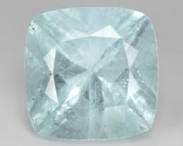 4.61 Un Heated  Sky Blue Color Natural Aquamarine Loose Gemstone