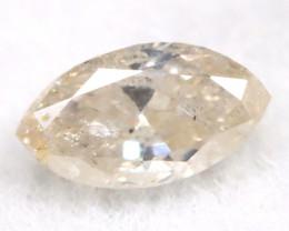 Peach Pink Diamond 0.11Ct Untreated Genuine Fancy Diamond B0401