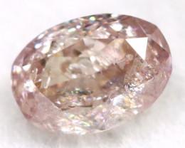 Pink Diamond 0.21Ct Untreated Genuine Fancy Diamond B0406