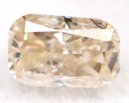 Peach Pink Diamond 0.13Ct Untreated Genuine Fancy Diamond B0414