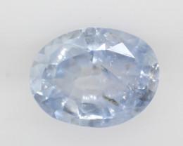 0.95 carats | Natural Blue Sapphire | 6.9 x 5.3 x 2.9 mm | Oval Cut
