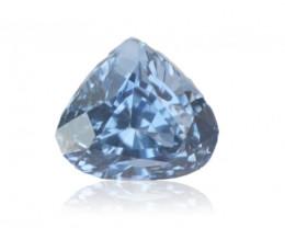 1.00 carats   Natural Blue Sapphire   5.3 x 5.9 x 4.4 mm   Heart Shape
