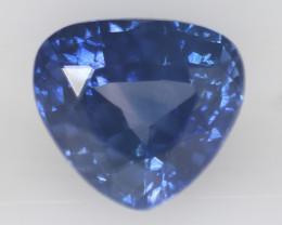 1.40 carats  Natural Blue Sapphire  6.5 x 5.9 x 4.1 mm  image 0 1.40 carats