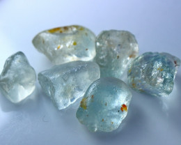 103.90 CT Natural - Unheated Blue Topaz Rough Lot