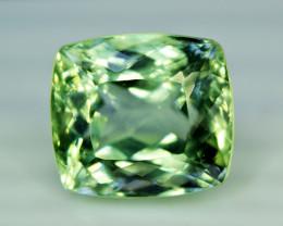 Kunzite, 37.10 Carats Amazing Lush Green Hiddenite Kunzite Gemstone