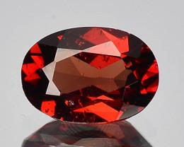 0.86 Cts Unheated Natural Red Rhodolite Garnet Gemstone