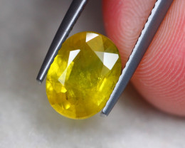 2.70Ct Yellow Sapphire Oval Cut Lot A965