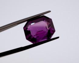 11.53 CT FREE SHIPPING! Custom Fancy Cut Purple Amethyst (Uruguay)