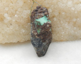 70.5cts Turquoise Pendant ,Natural Gemstone ,Turquoise Nugget Pendant G792