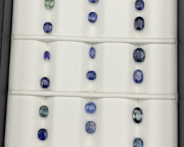 8.11 Carats Sapphire Gemstones Parcel