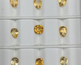 8.71 Carats Citrine  Gemstones Parcel