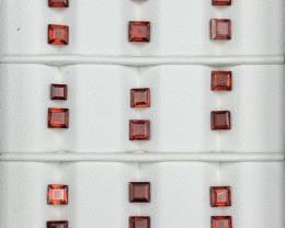 12.45 Carats Rhodolite Garnet  Gemstones