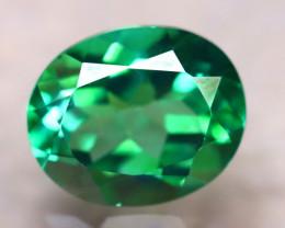 Green Topaz 4.57Ct Natural VVS Green Topaz E0813/A48