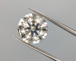 1.53 CT , Huge Salt And Pepper Diamond , Diamond With Contrast