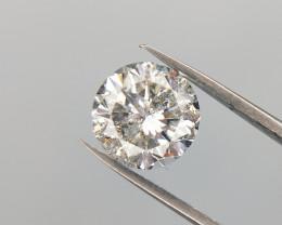 1.01 cts , Loose Diamond For Jewelry , Solitaire Diamond , Round Diamond