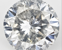 1.01 cts , Loose Diamond For Jewelry , Solitaire Diamond , Round Diamond