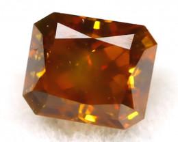 Brownish Orange Diamond 0.19Ct Untreated Genuine Fancy Diamond B0502