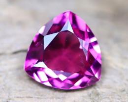 Purple Umbalite 1.26Ct VVS Trillion Cut Natural Umbalite Garnet B0507