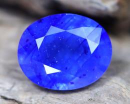 Blue Sapphire 6.20Ct Oval Cut Royal Blue Sapphire B0512
