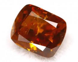 Brownish Orange Diamond 0.25Ct Untreated Genuine Fancy Diamond B0513