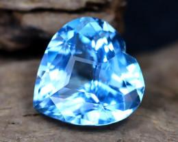 Swiss Topaz 5.60Ct VVS Master Cut Natural Swiss Blue Topaz B0514