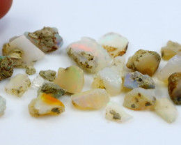 29.40 CT Natural - Unheated White Opal Rough Lot
