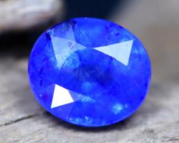 Blue Sapphire 5.27Ct Royal Blue Color Ceylon Blue Sapphire C0509