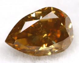 Champagne Diamond 0.24Ct Untreated Genuine Fancy Diamond C0505