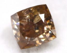 Brown Diamond 0.37Ct Untreated Genuine Fancy Diamond C0508