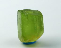 10.50 CT Natural - Unheated Green Beryl Crystal