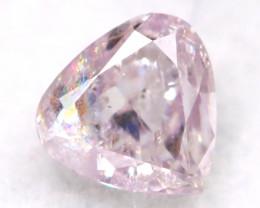 Pink Diamond 0.14Ct Untreated Genuine Fancy Diamond A0511