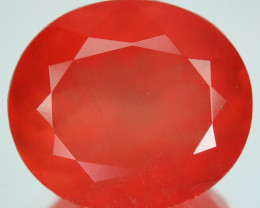 7.55Ct Natural Pink Rhodocrosite Oval faceted Argentina