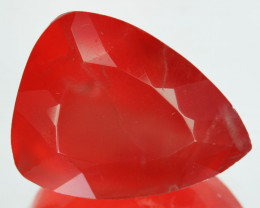 17.18Ct Natural Pink Rhodocrosite Pear faceted Argentina