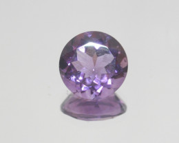 6.8 Ct Amethyst  Faceted Round 13mm.-(SKU 398)