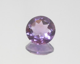 4.1 Ct Amethyst  Faceted Round 11mm.-(SKU 399)