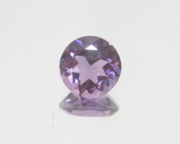 2.35 Ct Amethyst  Faceted Round 9mm.-(SKU 401)