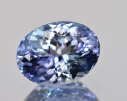 Natural Tanzanite 3.90 Cts Top Grade  Faceted Gemstone